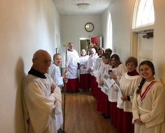 Choir, readers, acolytes - 12-2-18